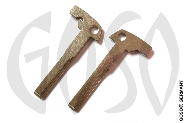 Key Blade Blank for MERCEDES emergency key 8339