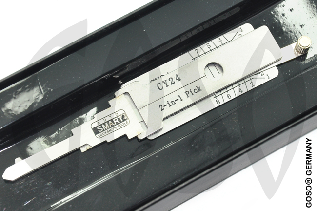 Lock Pick Decoder for Chrysler Dodge Jeep CY24 2in1 9077