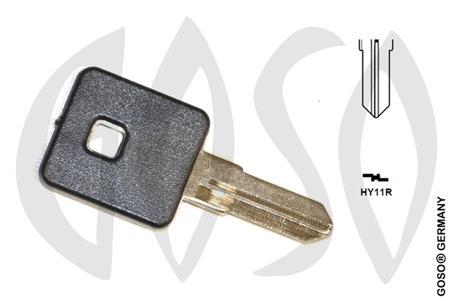 Harley motorcycle key shell HY11R MT09