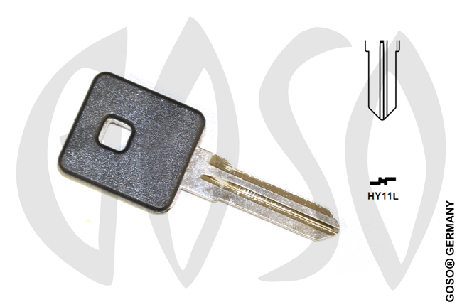 Key Shell for Harley motorcycle HYIIR MT10