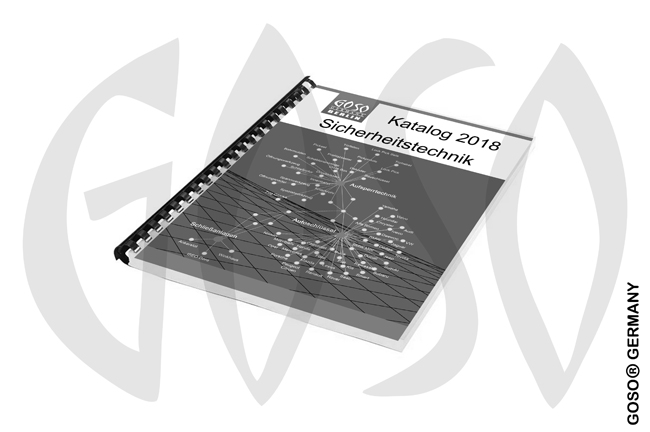 Print Katalog security technology 2018 german 5591-4