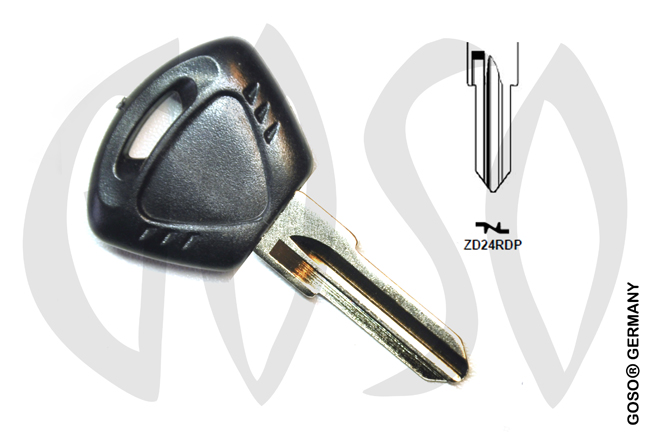 Key Shell for Triumph motorcycle ZD24R MT45