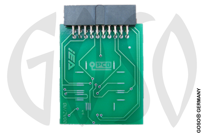 Zed-Full 64 PINS QFP MCU PCB Adapter ZFH-EA2 ZF37