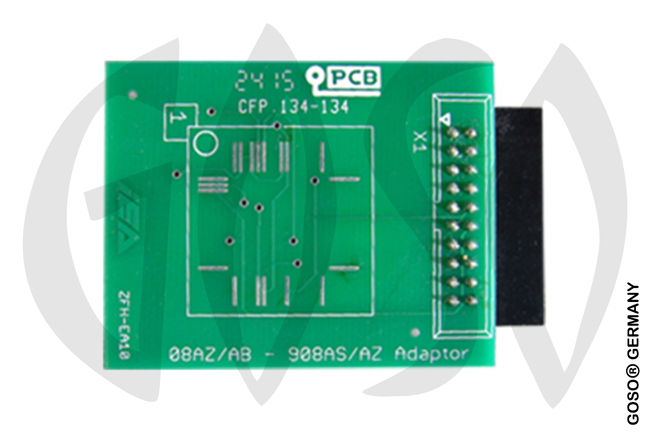 Zed-Full 64PINS Motorola 08AZ/AB-98AS/AZ PCB Board ZFH-EA10 ZF49