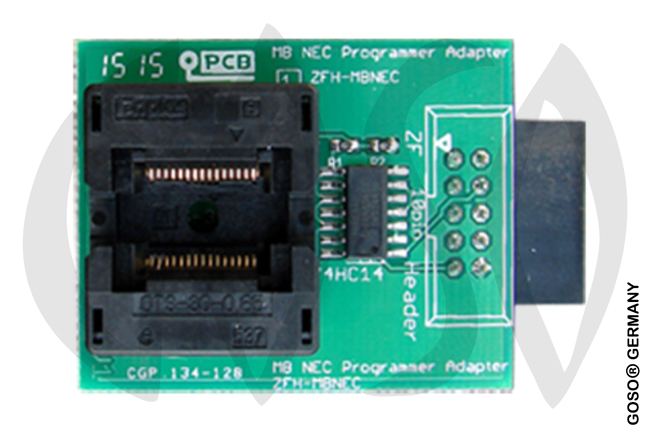 Zed-Full MB Key NEC MCU Adapter with Test Clip ZFH-MBNEC ZF53