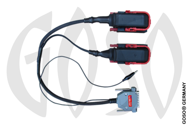 Zed-Full Special socket Cable to virginise Fiat ECU BOSCH ME73(313-314)- with two sockets ZFH-ME73 Z
