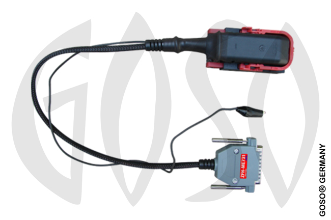 Zed-Full Special socket Cable to virginise Fiat ECU BOSCH ME731(253-254) ZFH-ME731 ZF62