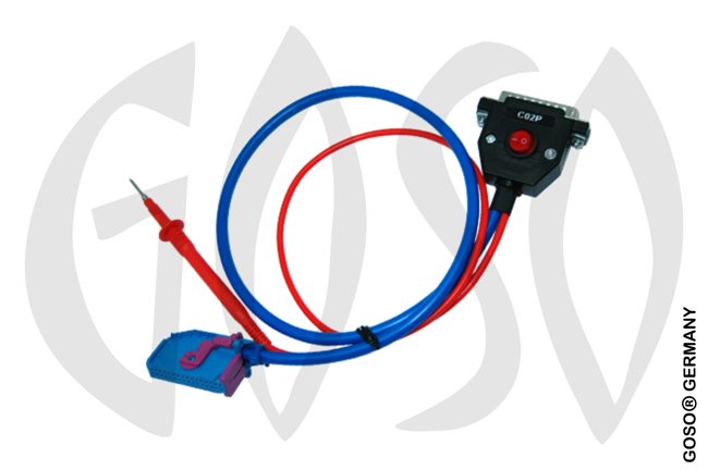 Zed-Full new VAG Cluster Blue Cable with POGO PIN-Test ZFH-C02P ZF66