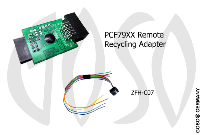 Zed-Full Remote unlocking PCB Adapter- with C07 Cable ZFH-PCF79X ZF68
