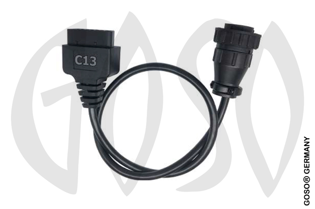 Zed-Full DAF Truck Cable-Key Programming Cable (-2016).  ZFH-C13 ZF76