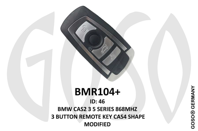 Remote Key for BMW Zedfull  ID46  PCF7945A / PCF7953A 868MHz 3T BMR104+ ZR11