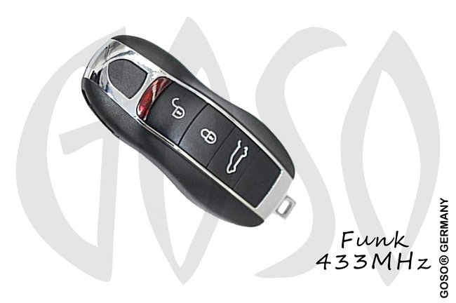 Remote Key for Porsche  434MHZ  3 button PCF7945P ID49 HITAG PRO ZR125