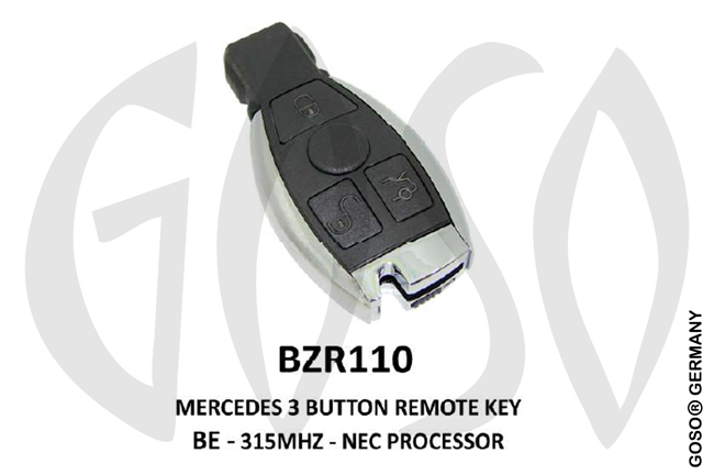 Mercedes Remote Key 315MHz NEC 3T  BZR110 ZR25