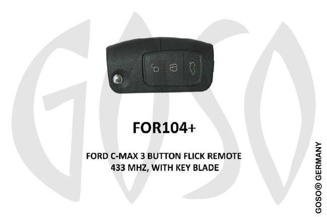 Remote Key for Ford IEA-Zedfull  433MHz  3T  FOR104+ ZR51