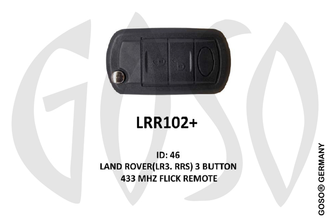 IEA- LandRover Remote Key 433MHz PCF7941A  ASK ID46 3T HU101 LRR102+ ZR55