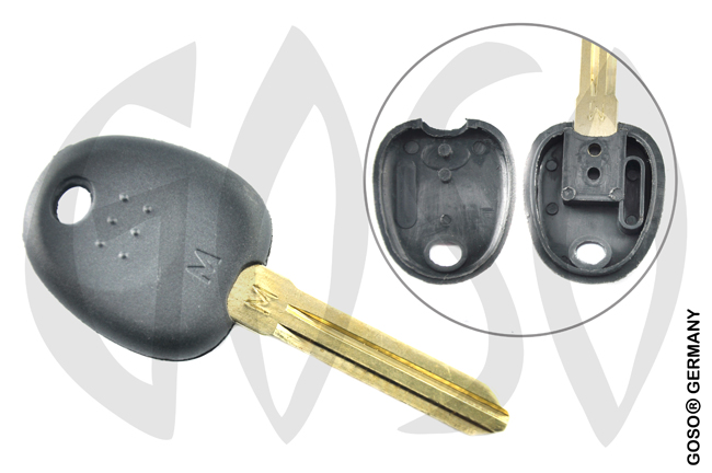 Key Shell for Kia Hyundai key housing blank HYN14T 4402