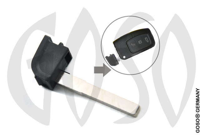 Remote Key Blade for Ford Blank Smart 4495