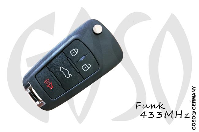 Remote Key for Opel Astra J ID46 433MHZ ASK PCF7937E PCF7941E NCF2951E HU100 2B ZR377