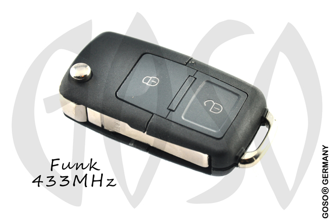 Remote Key for  VW ID48MQB ID88 AES 433MHZ 2B 7E0837202B HU66 ZR409